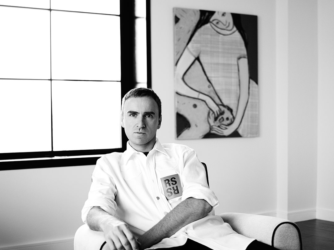 "Officially appointed on August 2nd to head up Calvin Klein as Chief Creative Officer, Raf Simons will be driving ""the creative strategy of the entire Calvin Klein brand, from the Calvin Klein collections, Calvin Klein Platinum and Calvin Klein Jeans to Calvin Klein Underwear and Calvin Klein Home."" He will supervise all aspects of design, marketing, communications and visual creativity."