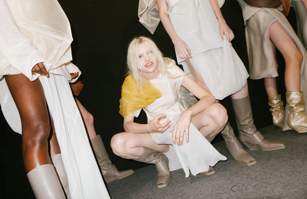 Backstage : Rick Owens Spring-Summer 2017 seen by Yulya Shadrinsky