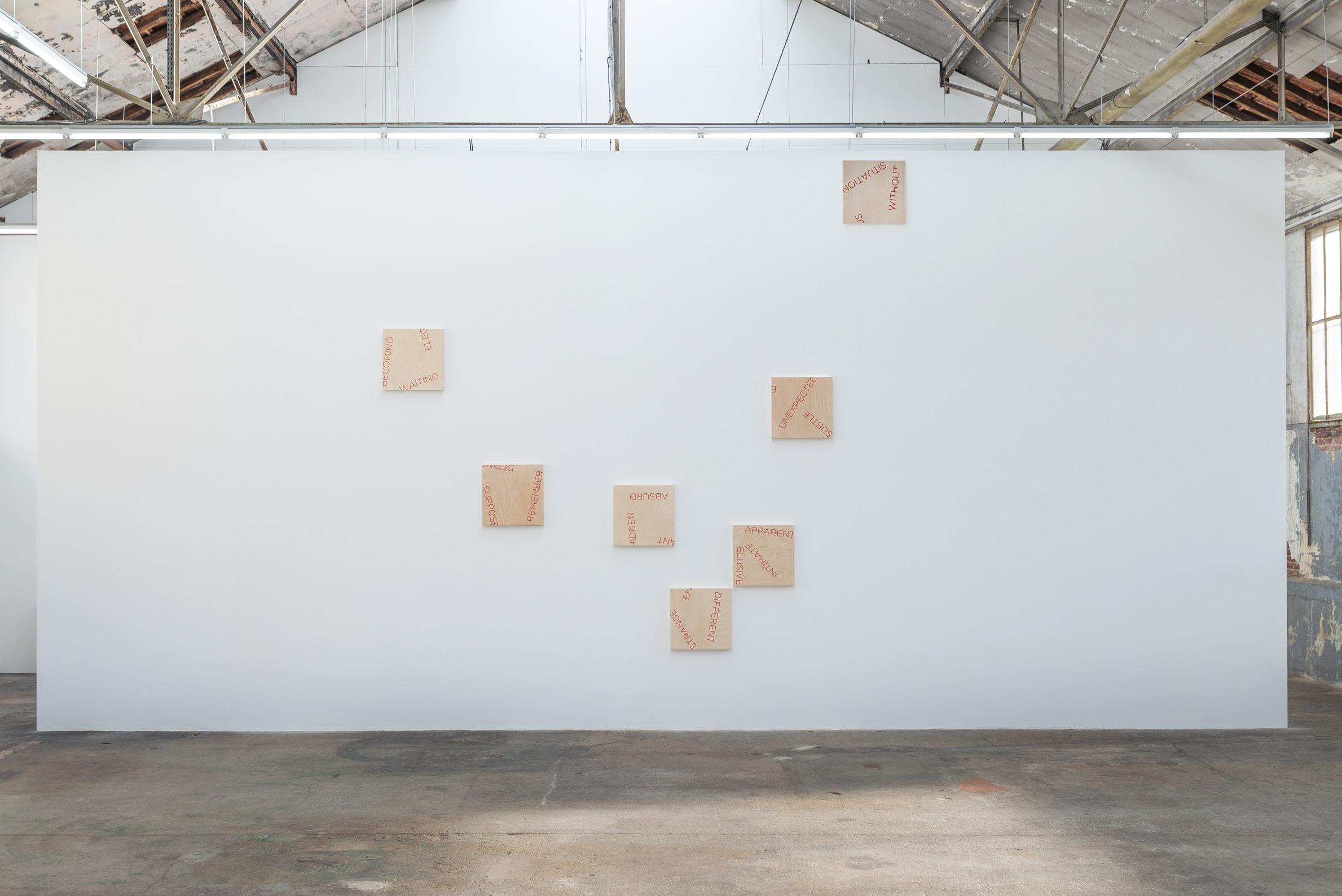 T l pathie et jeux de hasard robert barry la galerie for Art minimal et conceptuel