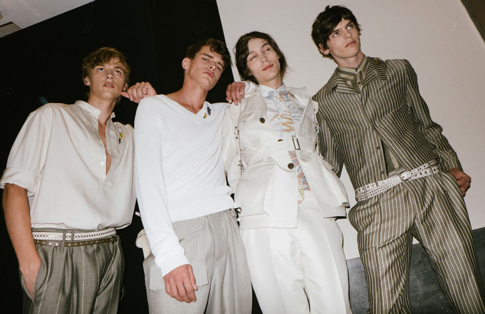 Exclusive: Salvatore Ferragamo spring-summer 2017's backstages seen by Yulya Shadrinsky
