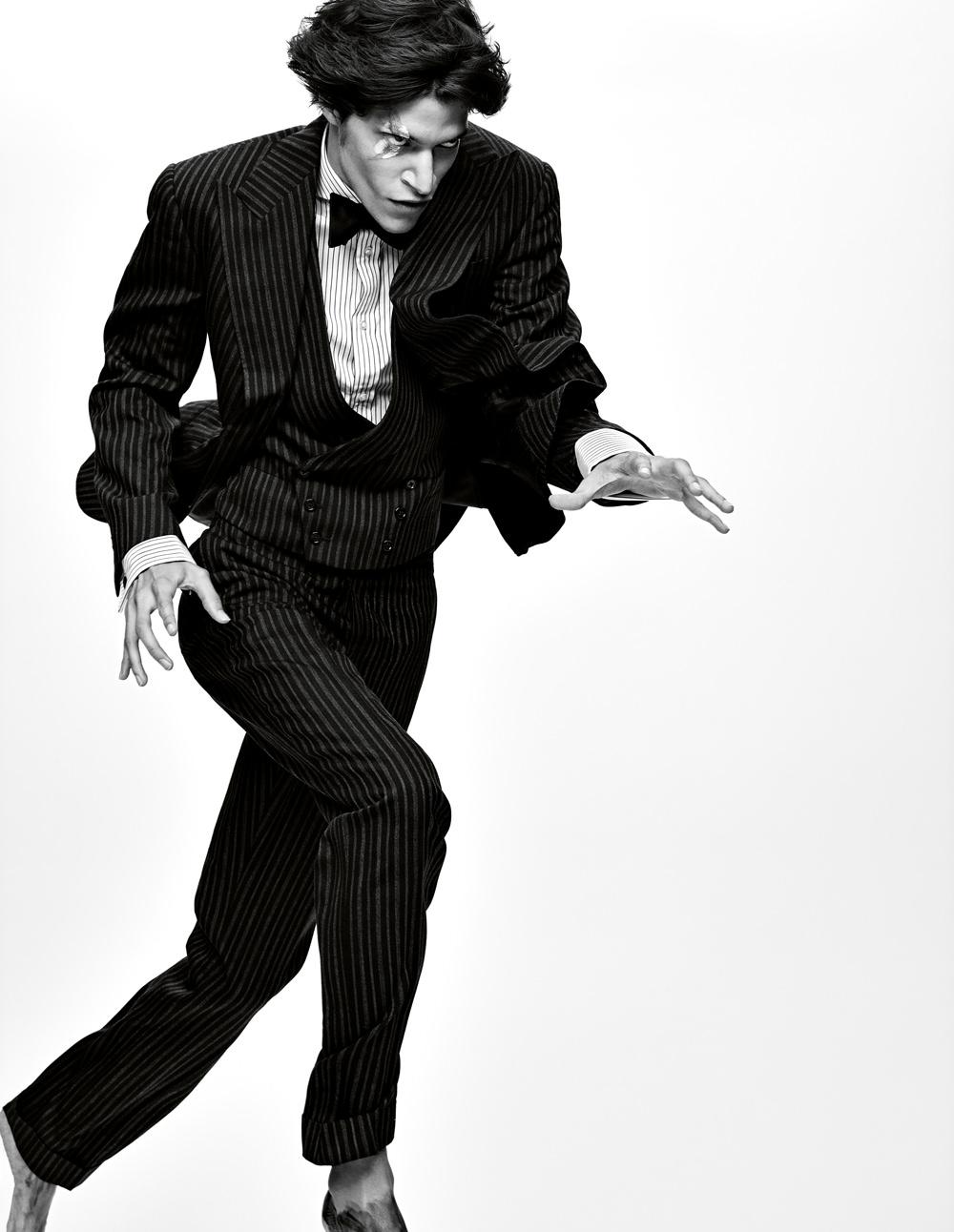 Suit, Ralph Lauren Purple Label.