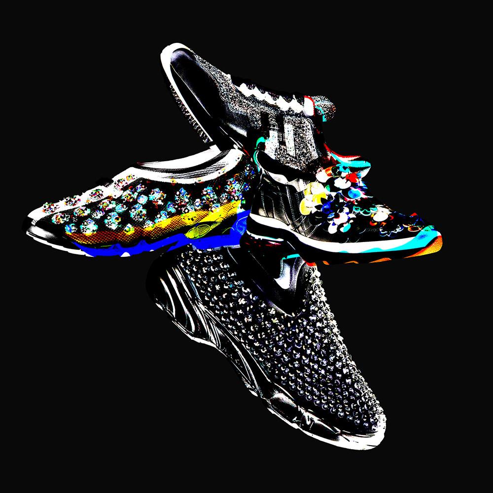Dior, Fendi, Hogan and Pinko's jewerly sneakers