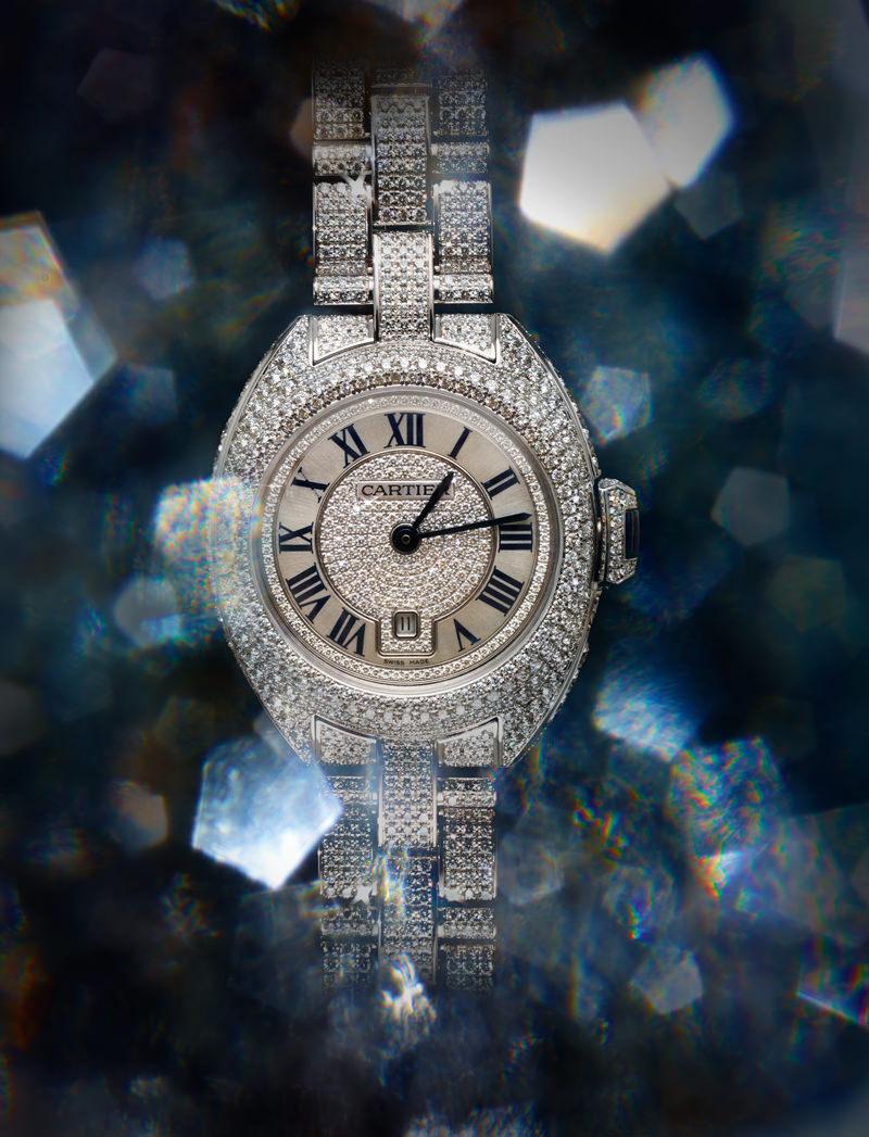 """Clé de Cartier"" watch, CARTIER."
