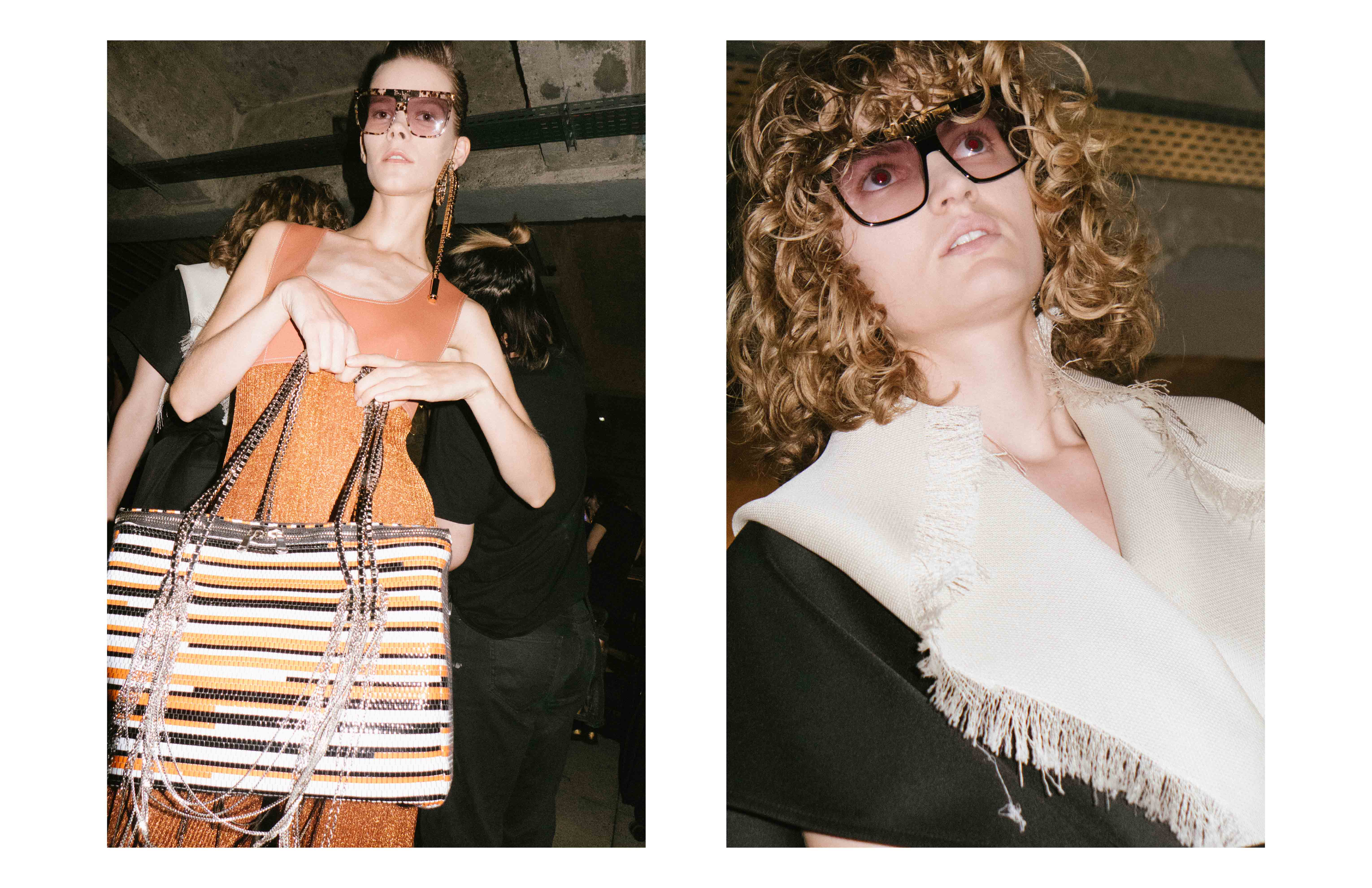 Backstage : Wanda Nylon Spring-Summer 2017 seen by Yulya Shadrinsky