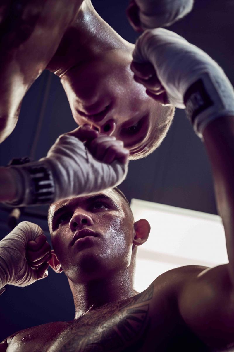 Bandes de boxe, Title Boxing. Bandes de boxe, Ringside.