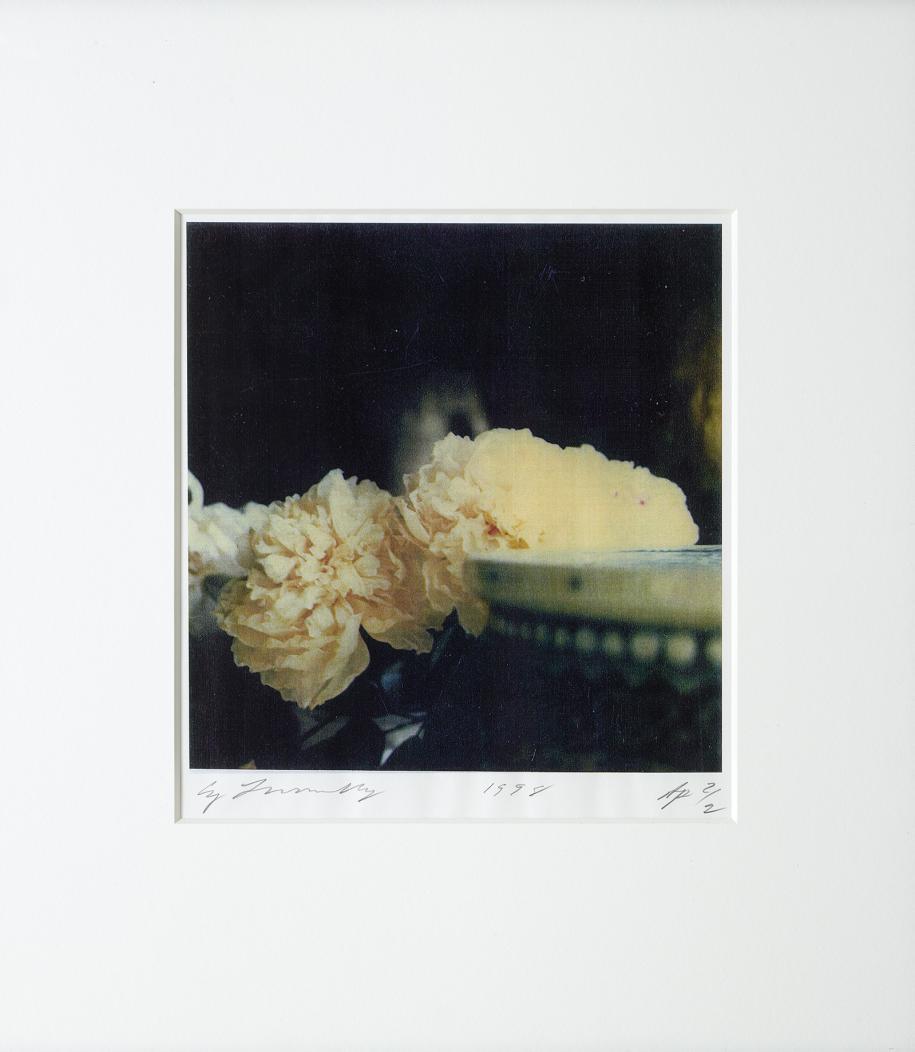 "Cy Twombly 1980, ""Peonies"" (Bassano in Teverina).© Fondazione Nicola Del Roscio. Courtesy archives Fondazione Nicola Del Roscio."