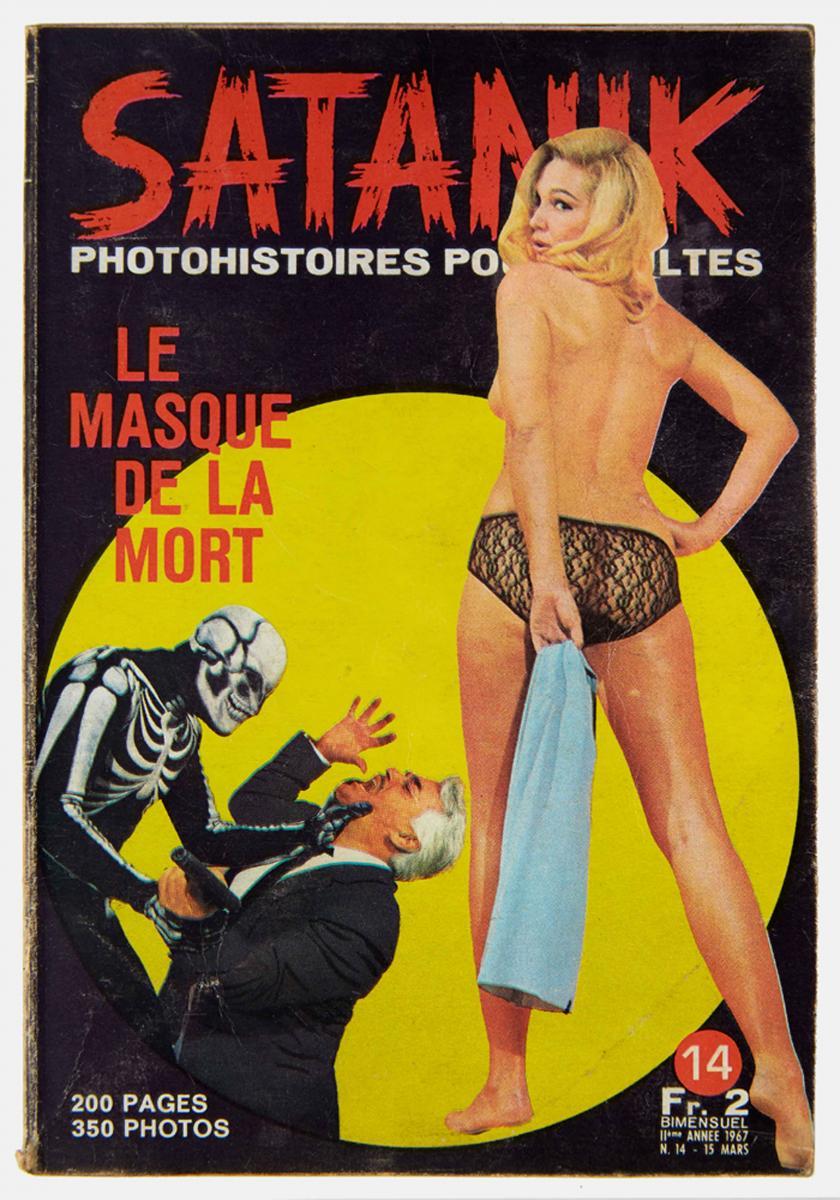 Satanik, Couverture (1967). Josselin Rocher.