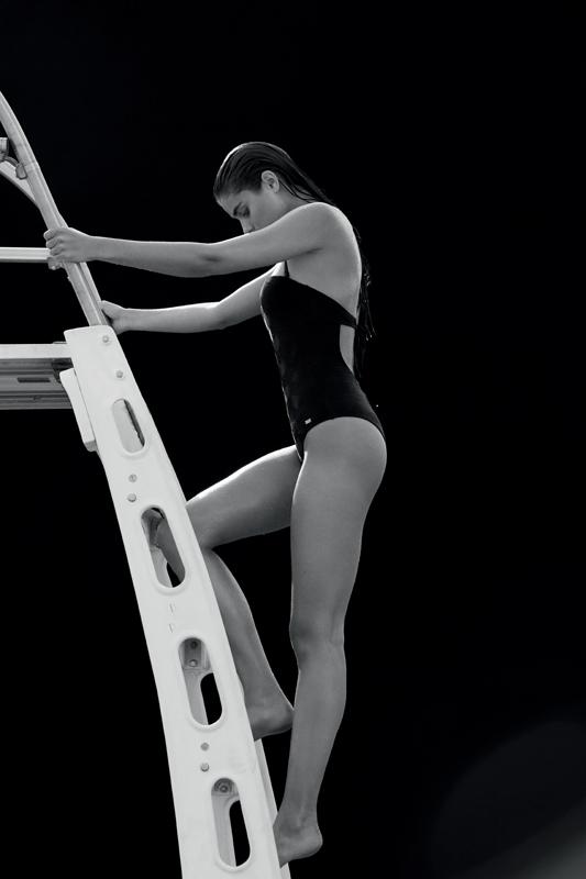 Lycra swimsuit, EMPORIO ARMANI.
