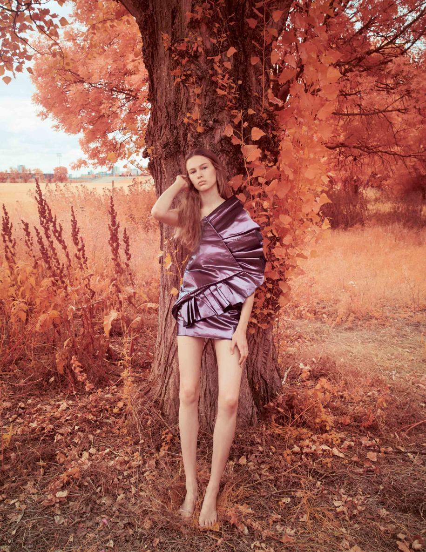 Dress, SAINT LAURENT PAR ANTHONY VACCARELLO.