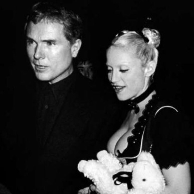 Glenn O'Brien and Madonna.