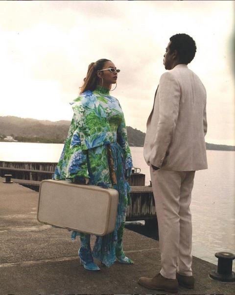Beyoncé en Richard Quinn