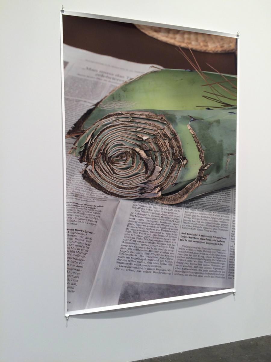 New York Installation PCR, 525(2015) by Wolfgang Tillmans, David Zwirner gallery.
