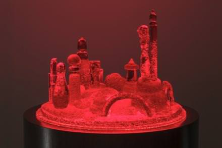 Mike Kelley, City 3, 2007 – 2011, 144.8 x 52.1 (diam.) cm / 57 x 20 1/2 (diam.).