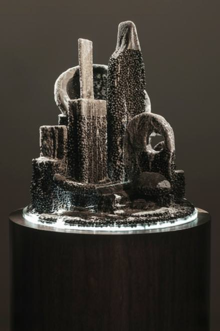 Mike Kelley, City 15, 2011, 166.4 x 60 (diam.) cm / 65 1/2 x 23 5/8 (diam.).