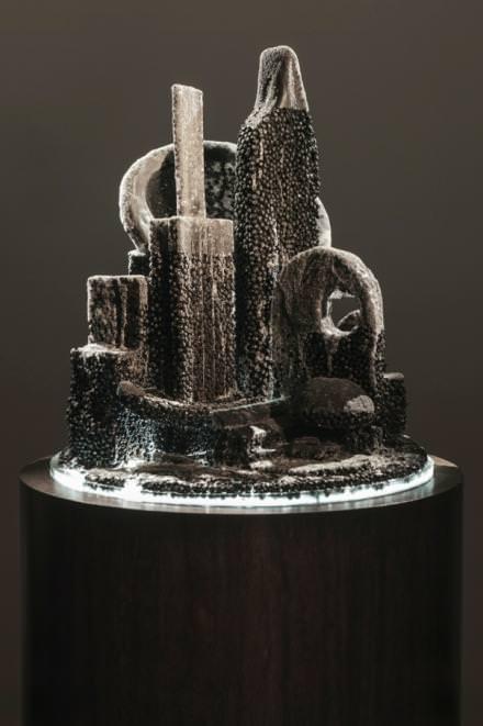 Mike Kelley,City 15,2011,166.4 x 60 (diam.) cm / 65 1/2 x 23 5/8 (diam.).