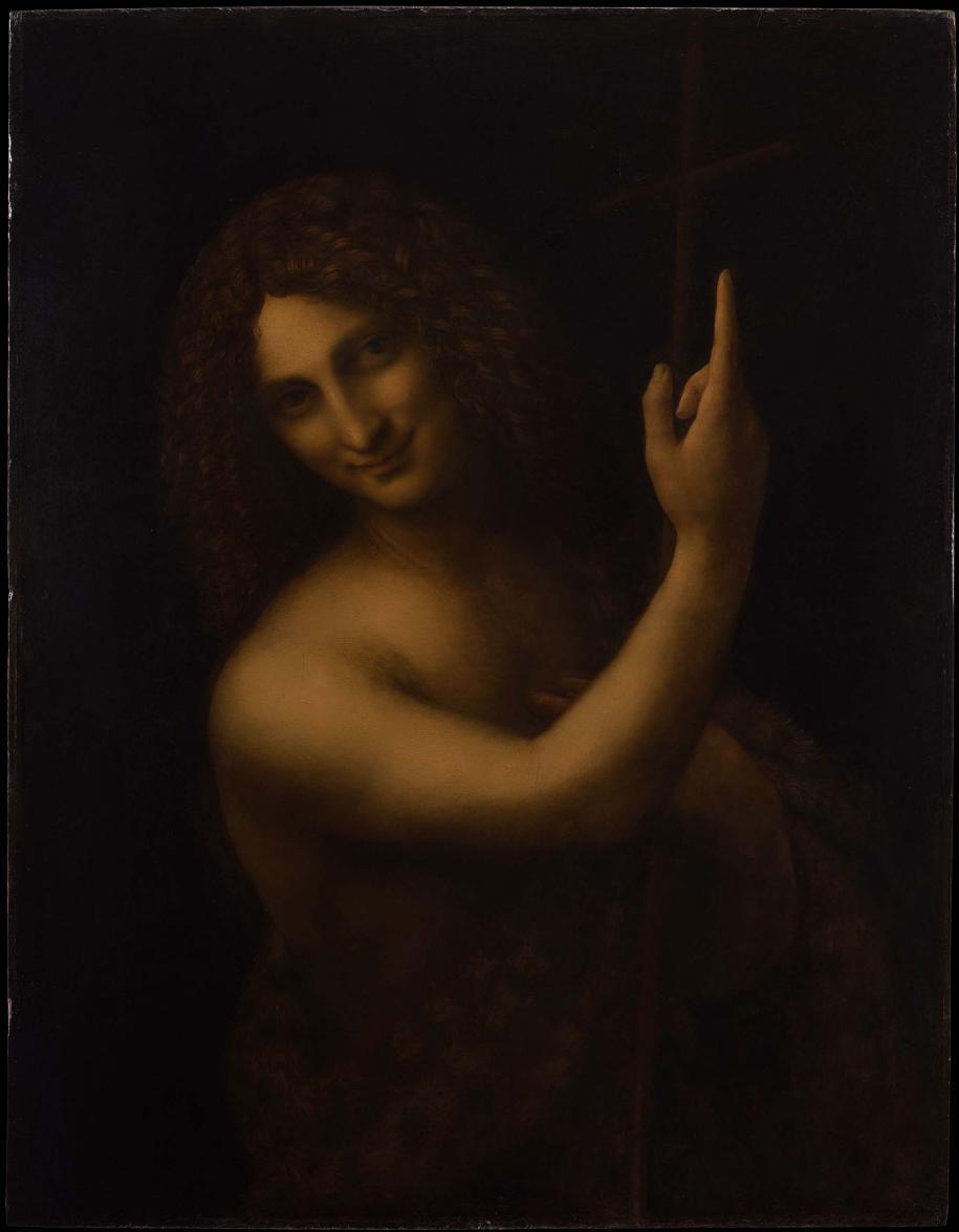 LeSaint Jean Baptiste(1513 - 1516) de Léonard de Vinci© RMN Grand Palais – Musée du louvre