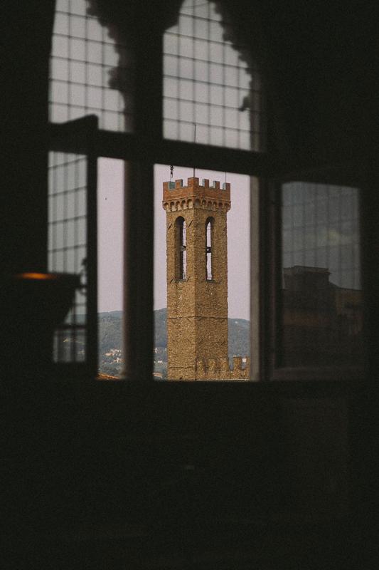 La tour du Palazzo Vecchio.