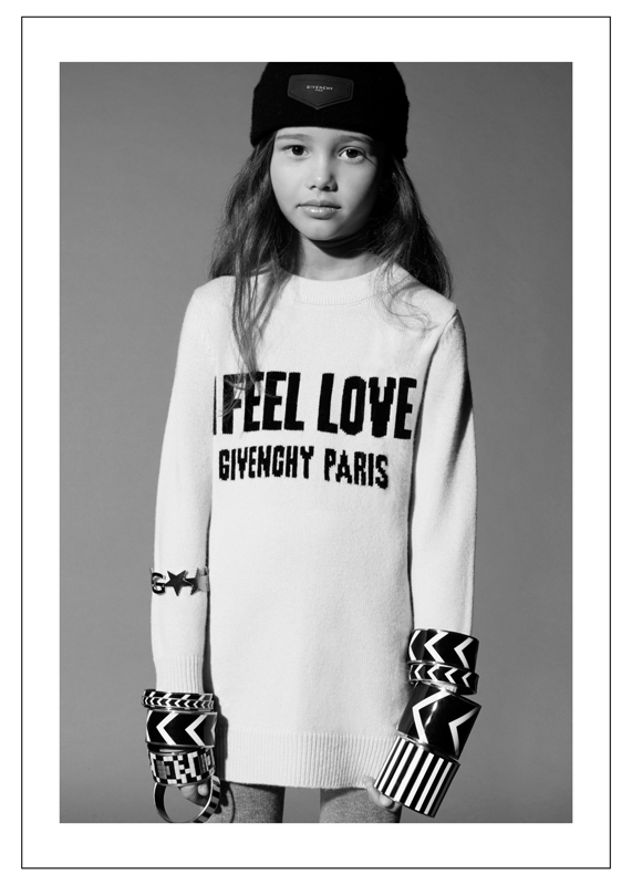 Collection Givenchy kids automne-hiver 2017-2018.