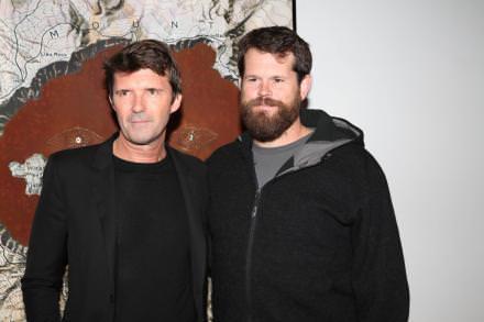 Paul-Emmanuel Reiffers et Matthew Day Jackson