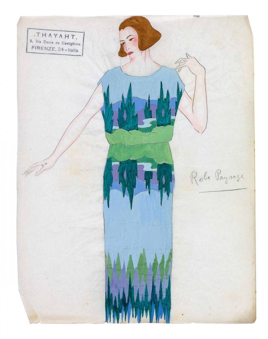 Dans les archives de Madeleine Vionnet, immense couturière du XXe siècle