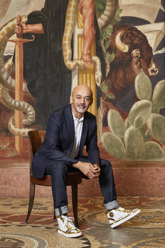 Christian Louboutin au Palais de la Porte Dorée © Courtesy of Christian Louboutin