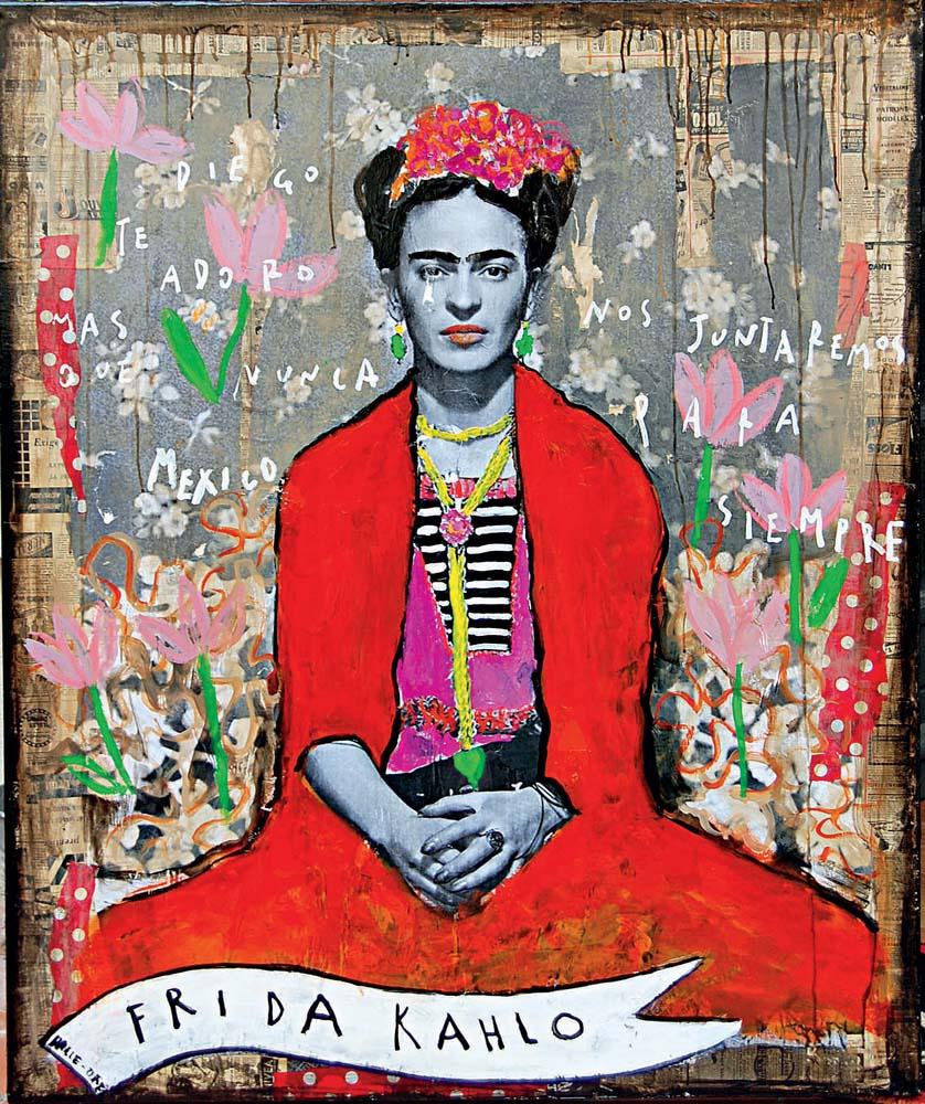 Frida y la vida byCorinne Dalle Ore.