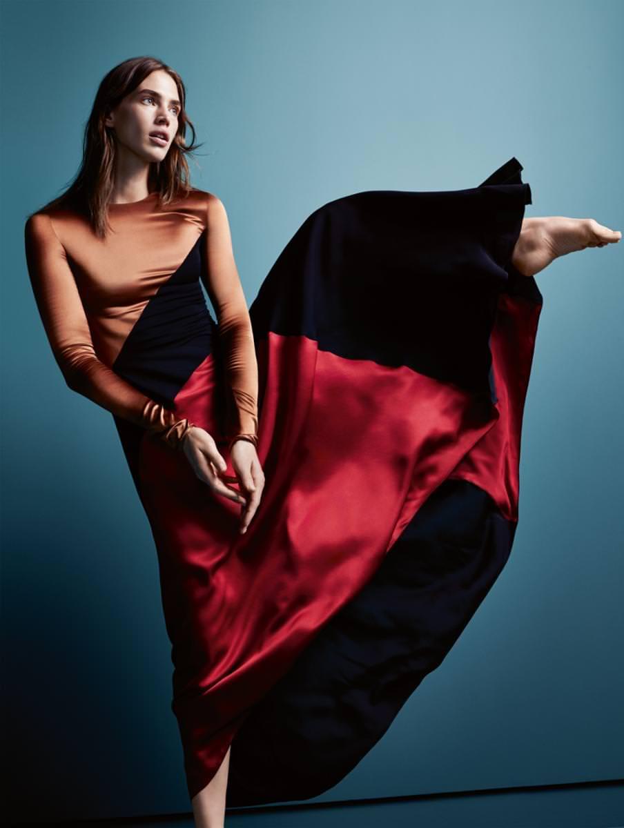 Dress, SALVATORE FERRAGAMO.