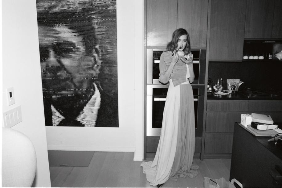Long dress, GIVENCHY.