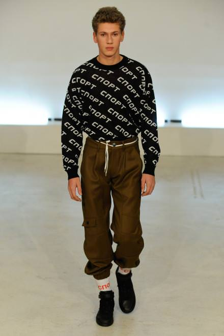 Look ok Gosha Rubchinskiy, fall-winter 2015-2016.