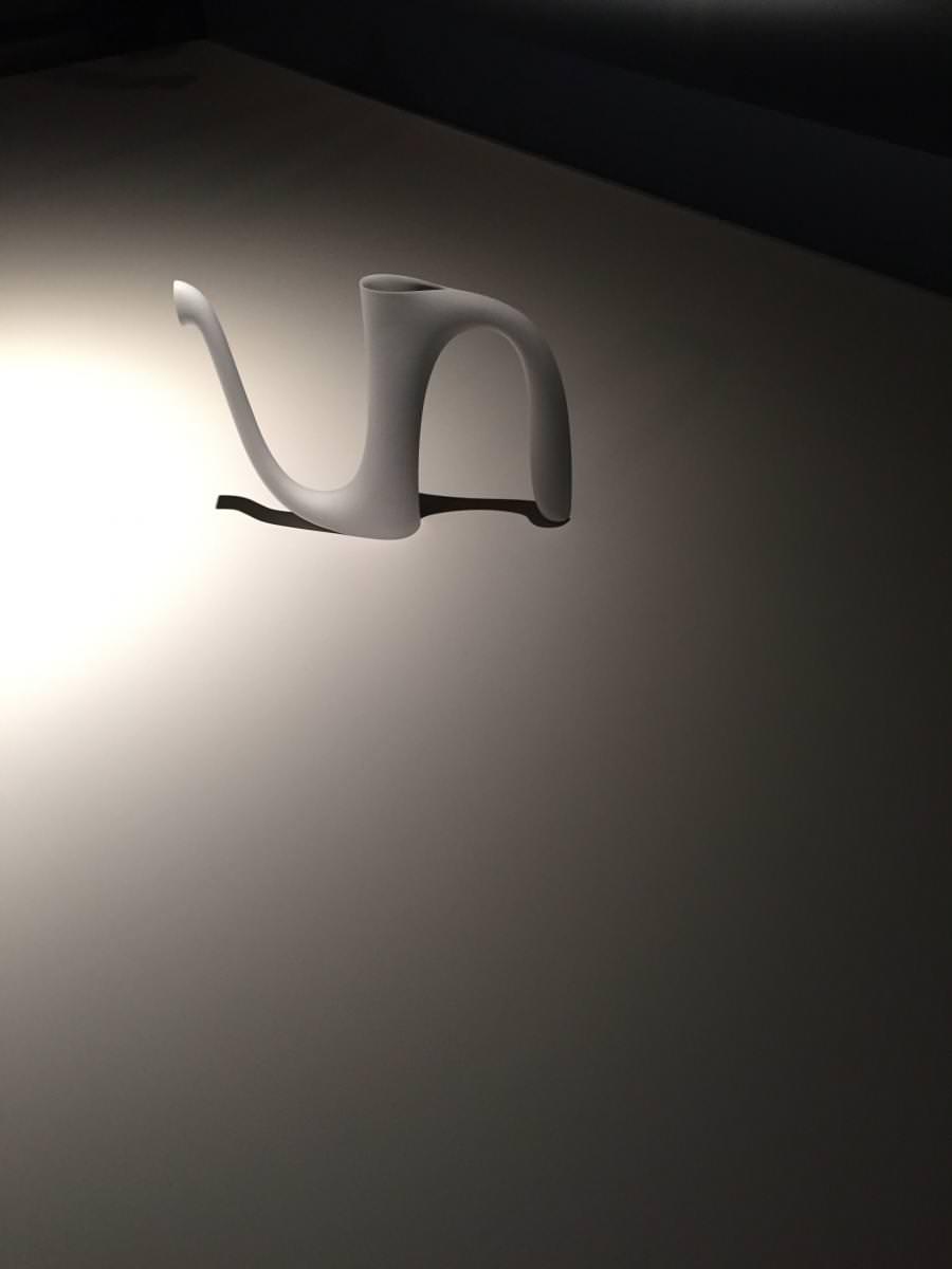 """AlinetoB - Design: Aldo Bakker for Sèvres – Cité de la Céramique – 2014     """"Pause"""", byAldo Bakker, at the CID-Grand-Hornu (Belgium). Until August 14th2016."""