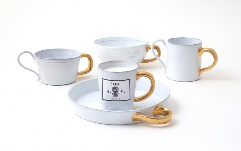 La vaisselle Sacai x Astier de Villatte