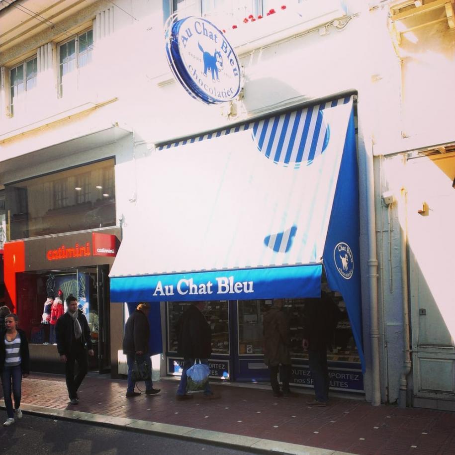 Au Chat Bleu: 47 bis rue Saint-Jean. Le Touquet.