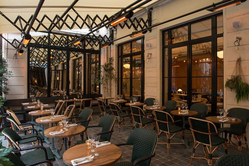 La terrasse cachée de Bambou, 75002 Paris.
