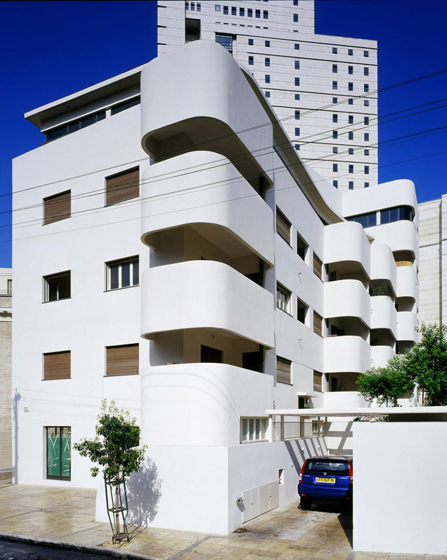 "La ""Bruno House"" Tel-Aviv, 1933, photo Amit Geron"