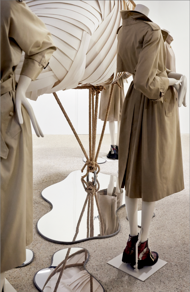 Burberrycollection for Dover Street Market