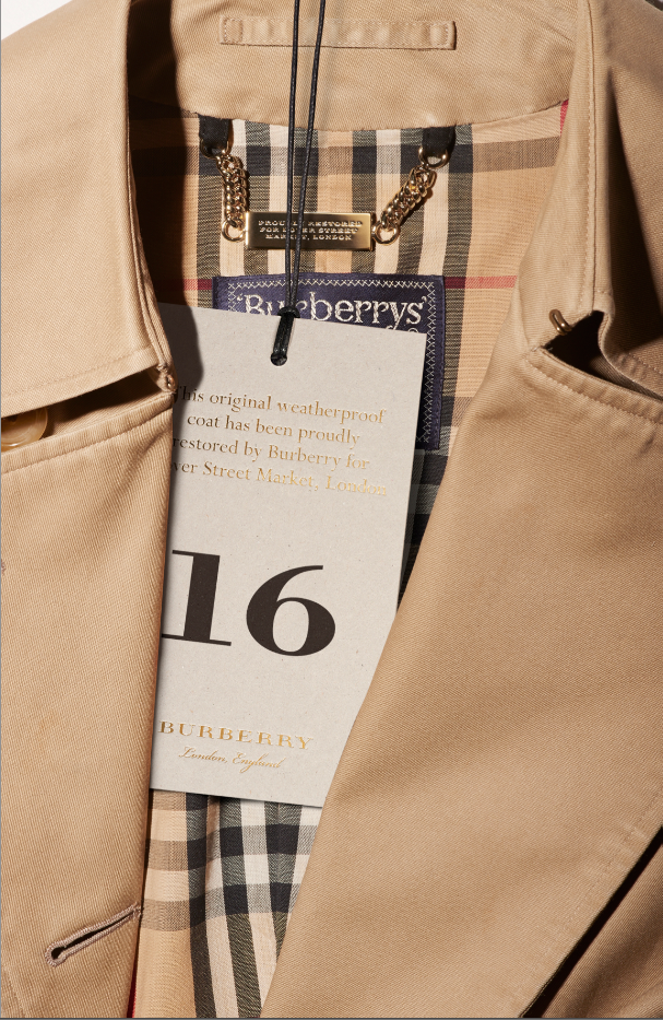 Burberry collection for Dover Street Market
