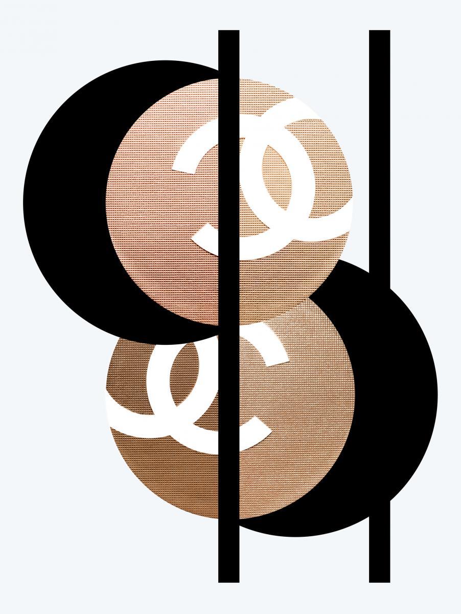 """""""Duo Bronze et Lumière"""", 307 clair et 317 medium, collection Vision d'Asie : Lumière et Contraste, cruise 2019,CHANEL."""