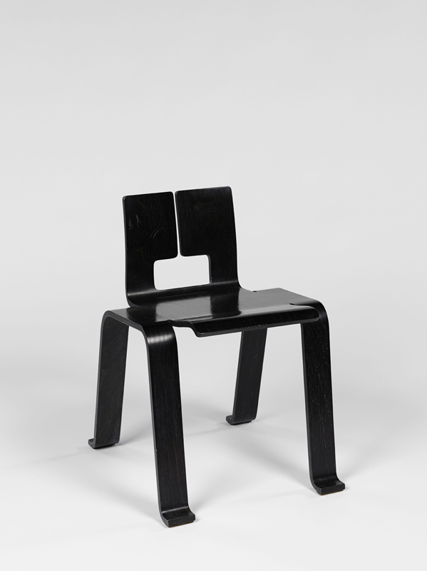 """Charlotte Perriand """"Chaise Ombre"""" (1954)."""