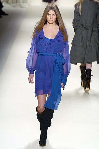 Défilé Chloé automne-hiver 2005par Clare Waight Keller