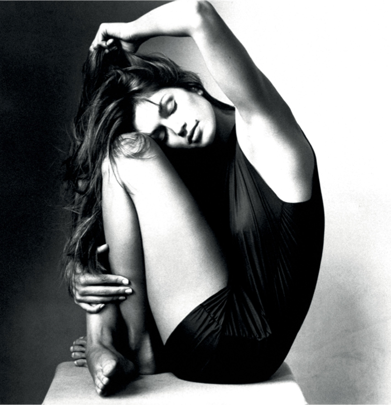Cindy Crawford par Irving Penn