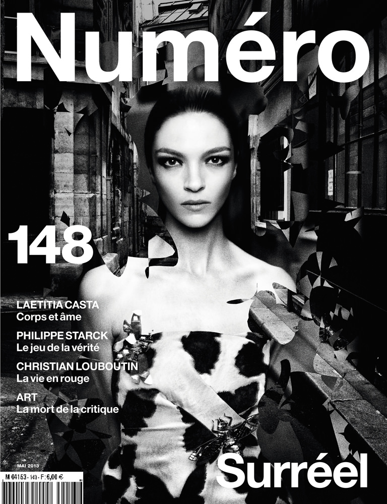 Mariacarla Boscono photographed by Stéphane Sednaoui for Numéro 148 (November 2013)