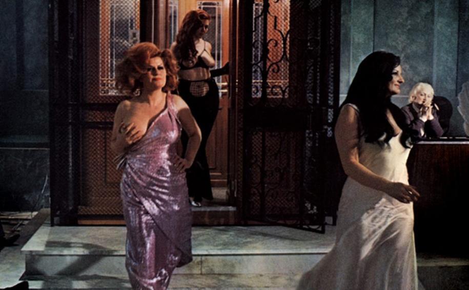Une scène dansRomade Federico Fellini, 1972. (Non exposé)
