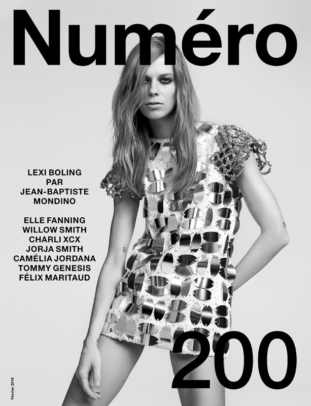 Lexi Boling by Jean-Baptiste Mondino and Babeth Djian for Numéro 200