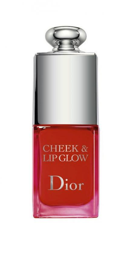 "Groseille en version joues et lèvres ""Cheek & Lip Glow"", DIOR."