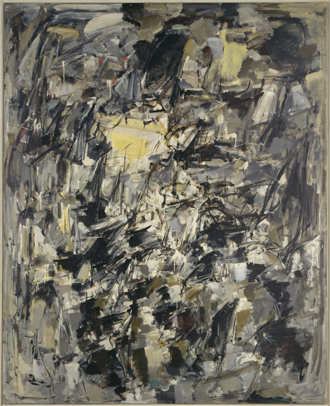 """Joan Mitchell, """"Sans titre"""" (1954).Photo©Centre Pomidou, MNAM CCI. Dist RMN-Grand Palais.Jacques Faujour"""