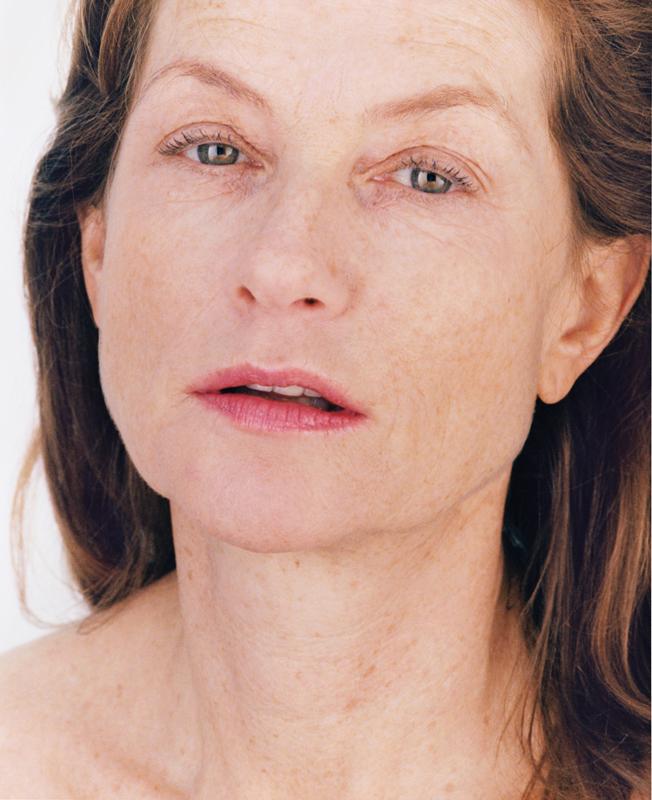 """Roni Horn, """"Portrait of an image (with Isabelle Huppert)""""(2005)© Donation Yvon Lambert à l'État français / Centre national des arts plastiques / Dépôt à la Collection Lambert, Avignon"""