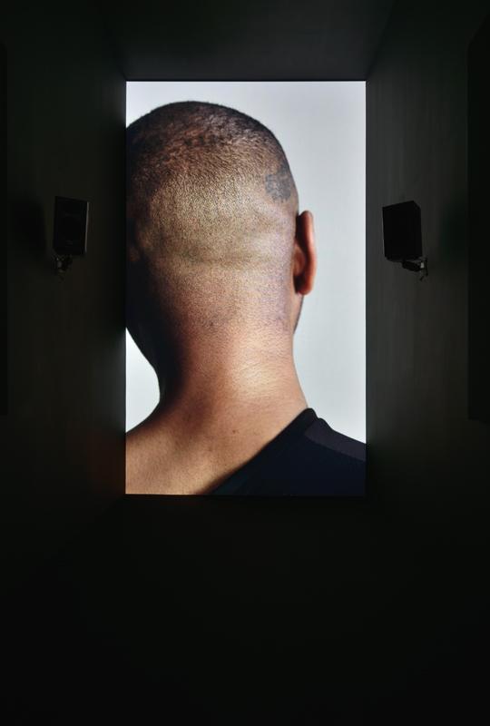 Vue de l'exposition d'Adam Pendleton au Consortium, Dijon (2020).Photo : Rebecca Fanuele ©ConsortiumMuseum.