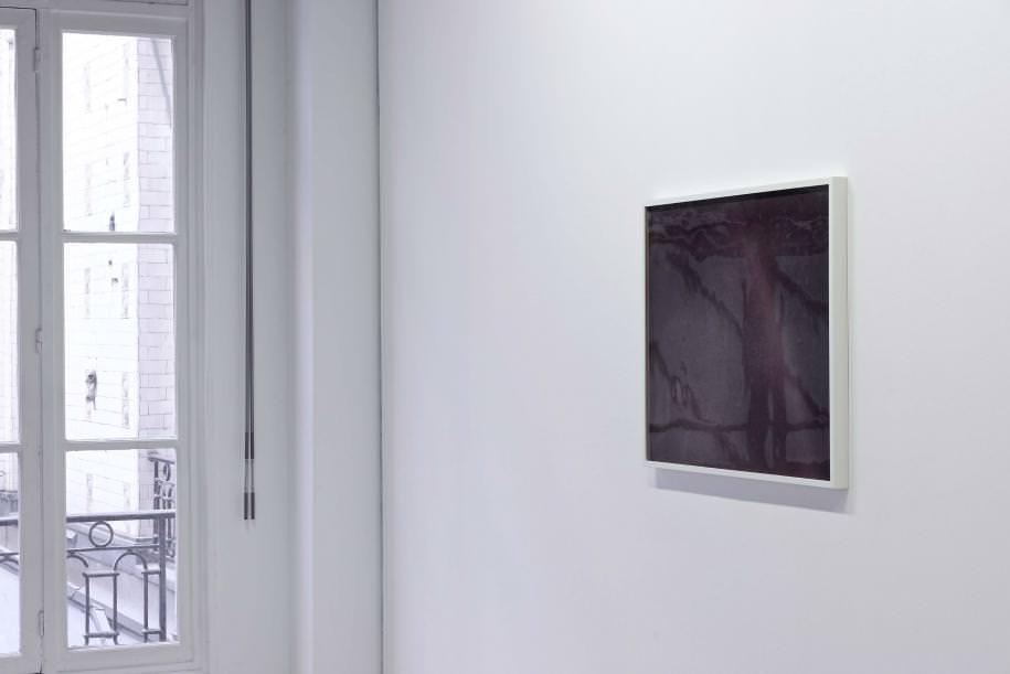 Diptyque Over the Rainbow (2015),graphite, encre sur papier et verre soufflé,71 x 91 cm chacun (encadré).  Photos: Aurélien Mole/Fondation d'entreprise Ricard