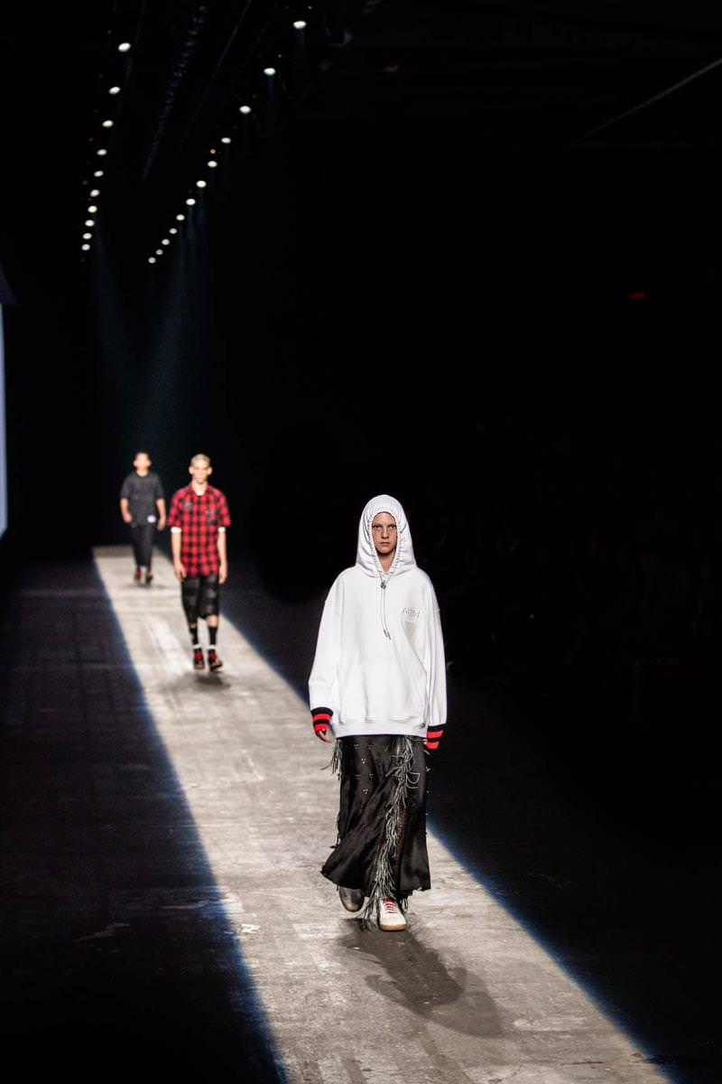 The Power of the Street : Alexander Wang's fashion show spring-summer 2016