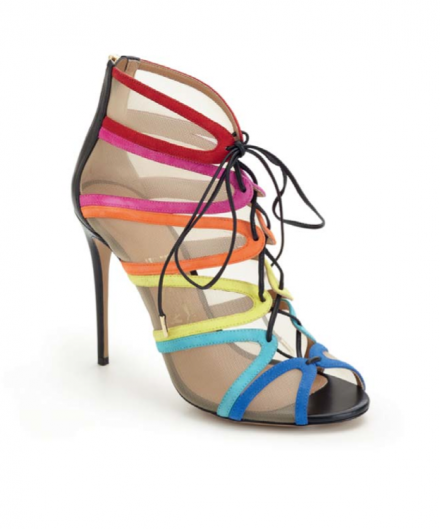 Edgardo Osorio's glamorous shoe collection for Salvatore Ferragamo